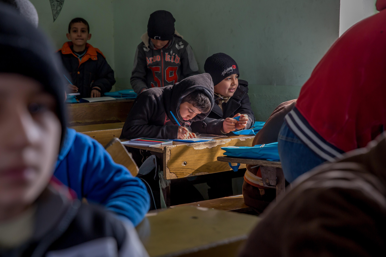 mosul classroom