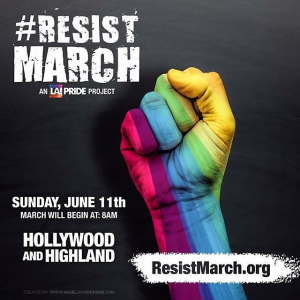 LA Pride Resist March