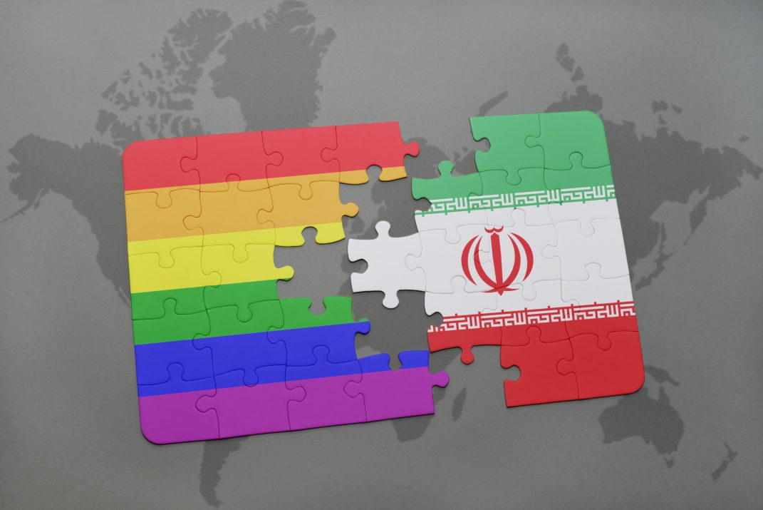Iran and Gay Pride Flags